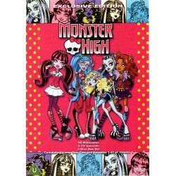 Monster High Vol. 1, 2, and 3 on a 4 dvd set