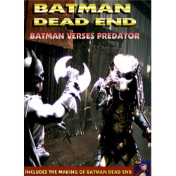 Batman Dead End Batman vs Predator fan film collection dvd