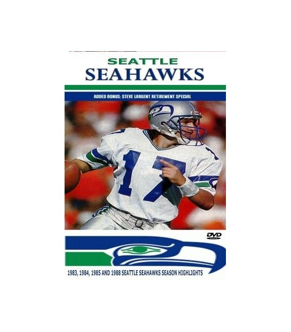 Seattle Seahawks 1980's season highlights DVD