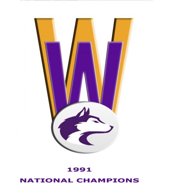 1992 National Champions Washington Husky Football Highlights DVD