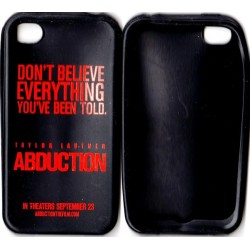 ABDUCTION Promo IPhone case starring Taylor Lautner