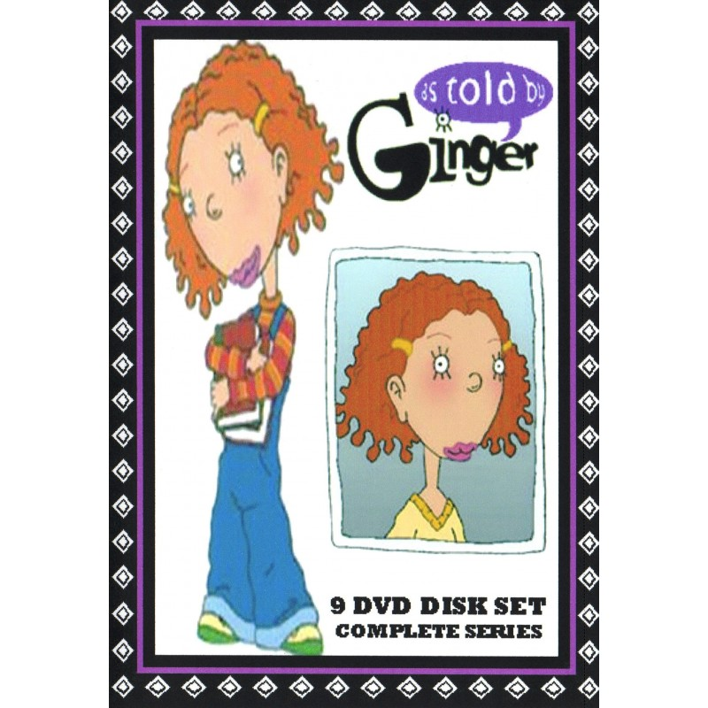 As Told By Ginger complete series 9 DVD SET - Media Collectibles