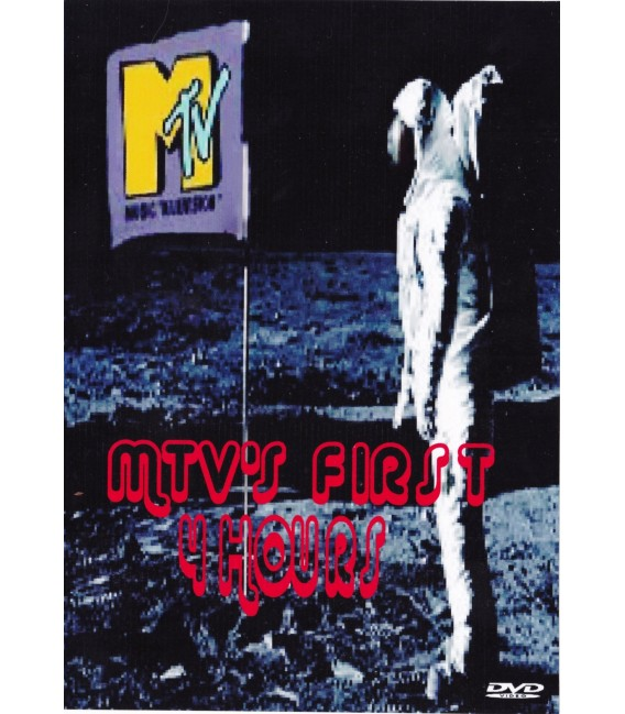 MTV's 1st 4 hours of broadcasting on a 2 DVD set