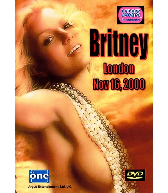 Britney Spears Oops I Did It Again Concert - London 2000 DVD