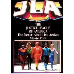 JUSTICE LEAGUE OF AMERICA. Live-action pilot DVD