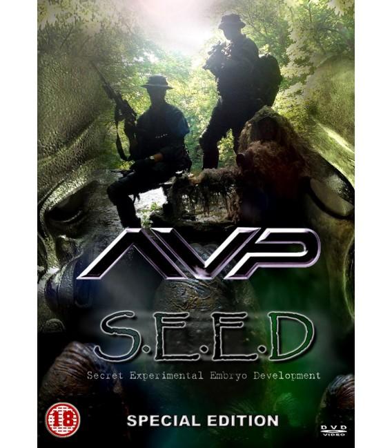Aliens vs Predators AVP S.E.E.D. DVD fan film