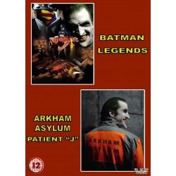 """Batman Legends & Patient """"J"""" Fan Film DVD"""