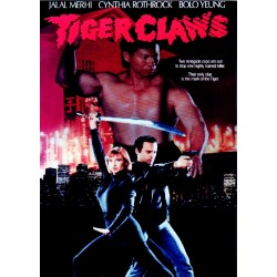 Tiger Claws DVD starring Cynthia Rothrock