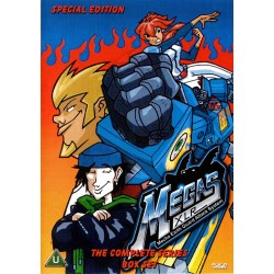 Megas XLR animated series in a 4 dvd set