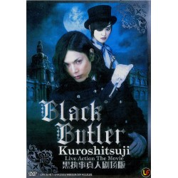 Black Butler Kuroshitsuji live action The Movie DVD