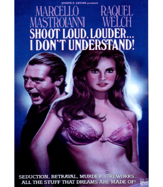 Shoot Loud, Louder... I Don't Understand DVD starring Raquel Welch
