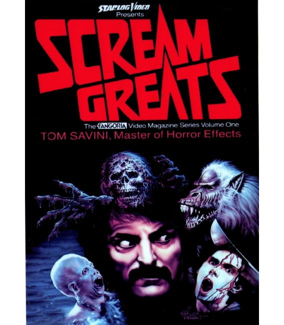 Scream Greats, Tom Savini, Master of Horror Effects Documentary DVD