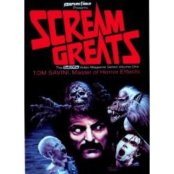 Scream Greats, Tom Savini, Master of Horror Effects Documentary DVD
