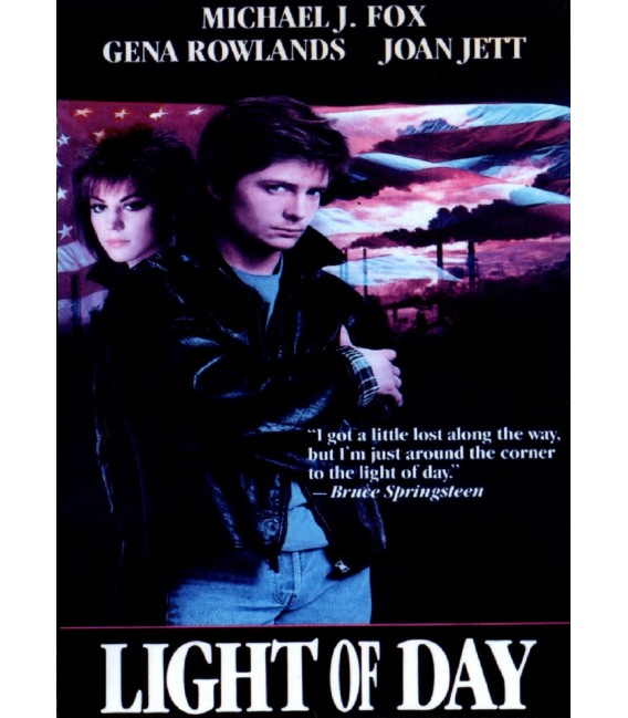 Light of Day DVD starring Michael J. Fox, Joan Jett, & Gena Rowlands