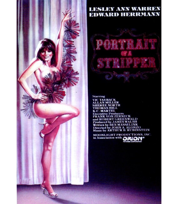 Portrait of a Stripper DVD starring Leslie Ann Warren