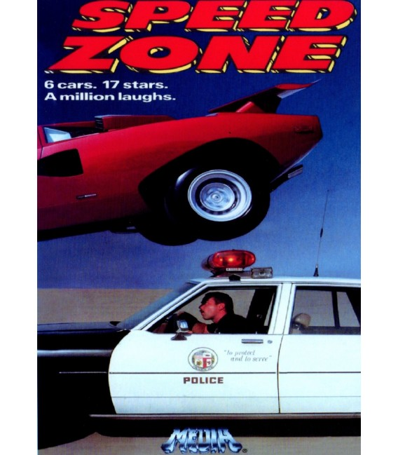 Cannonball Fever aka Speed Zone DVD starring John Candy