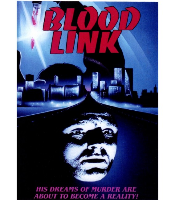 Blood Link DVD starring Michael Moriarty & Cameron Mitchell