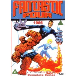 Fantastic Four 1967 DVD 2-disc set 60's cartoons complete series