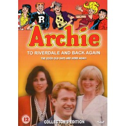 Archie: To Riverdale and Back Again live action movie DVD