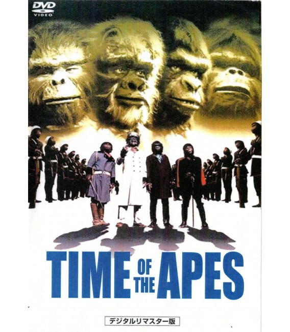 Time of the Apes movie DVD