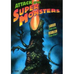 Attack of the Super Monsters DVD