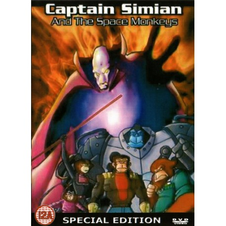 Captain Simian and the Space Monkeys 26 episodes 5 DVD set