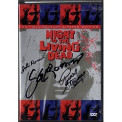 Night of the Living Dead Limited Edition DVD set SIGNED BY FOUR