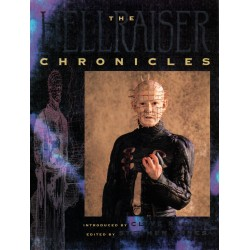 The Hellraiser Chronicles by Clive Barker SIGNED by Pinhead Doug Bradley MINT 1st Edition