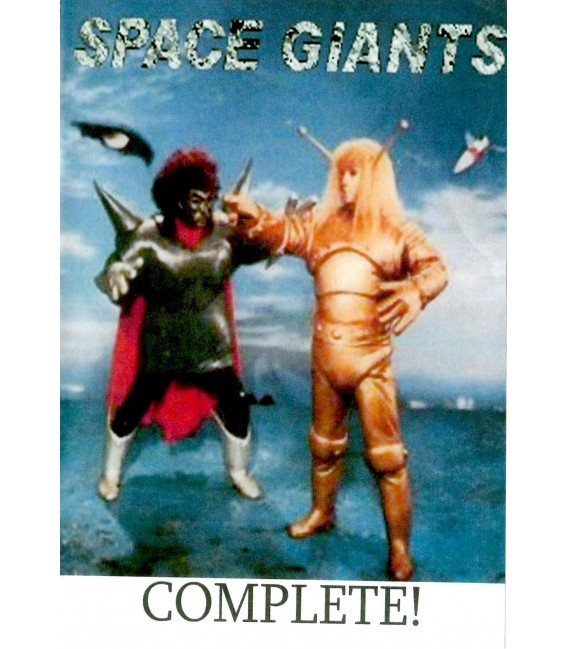 Space Giants complete all 52 episodes on 3 DVD's