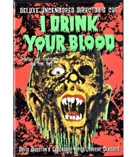 I Drink Your Blood Deluxe Uncensored Director's Cut DVD SIGNED by Lynn Lowry