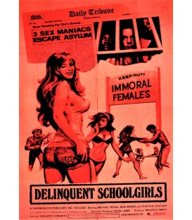 Delinquent School Girls aka Carnal Madness on DVD