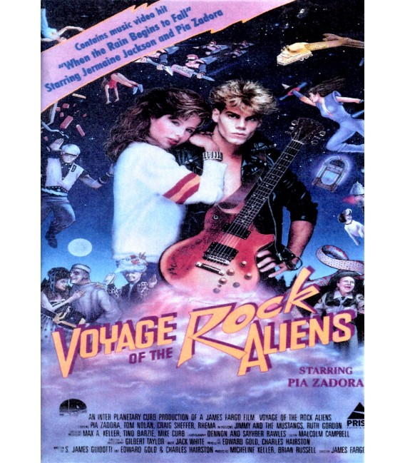 Voyage of the Rock Aliens on DVD
