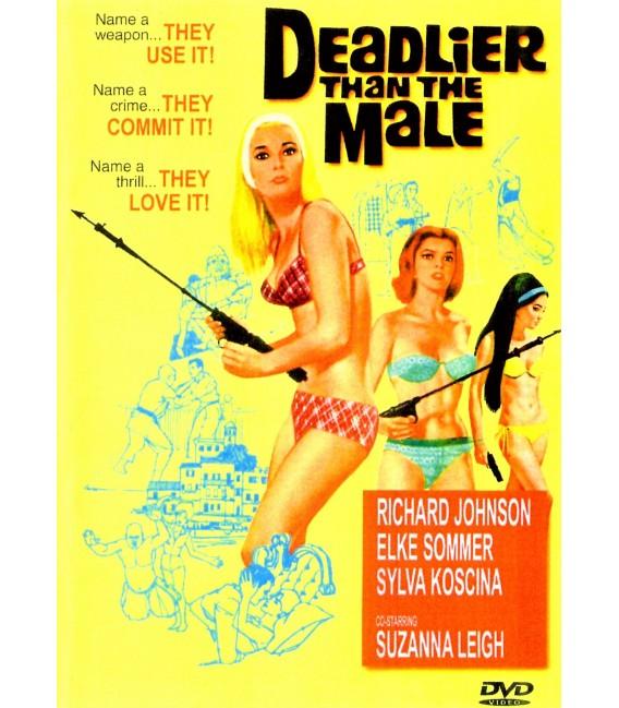 Deadlier Than The Male Starring Elke Sommer DVD