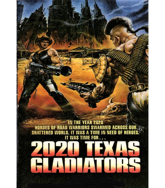 2020 Texas Gladiators directed by Joe D'Amato on DVD