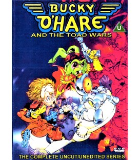 Bucky O'Hare and the Toad Wars complete series on 2 DVDS