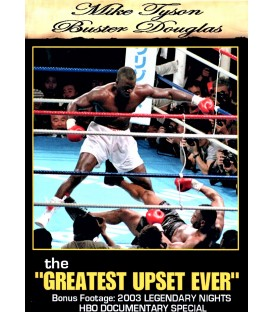 Mike Tyson vs. Buster Douglas fight with extras on DVD