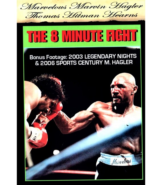Marvin Hagler vs. Thomas Hearns Fight original broadcast + Specials on DVD