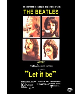 The Beatles Let It Be the Movie Extended Cut in Widescreen on DVD
