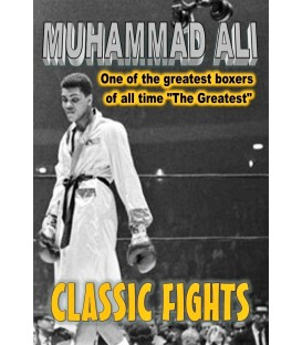 Muhammad Ali's 50 Greatest Fights on a 24 DVD boxed set