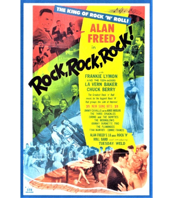 Rock, Rock, Rock starring Alan Freed, Tuesday Weld, Chuck Berry, and more on DVD