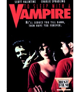 To Sleep With A Vampire on DVD