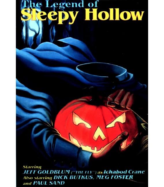 The Legend of Sleepy Hollow starring Jeff Goldblum on DVD