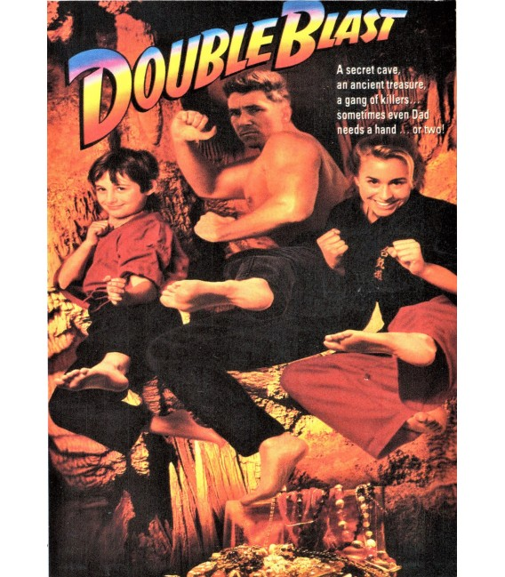 Double Blast starring Linda Blair on DVD