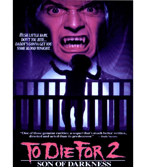 Son Of Darkness: To Die For 2 on DVD