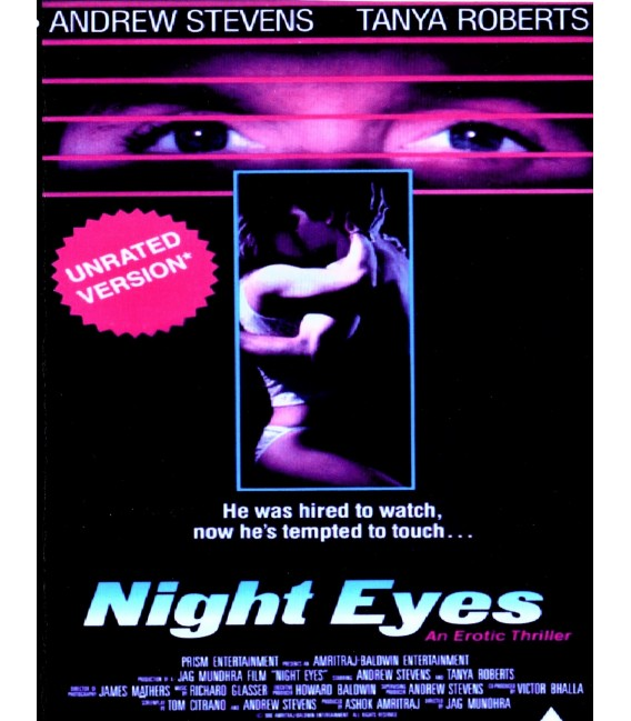 Night Eye UNRATED Version starring Tanya Roberts on DVD