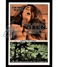 Signed Erica Gavin VIXEN movie poster autographed photo Russ Meyer's Classic film