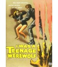 I Was A Teenage Werewolf starring Michael Landon on DVD