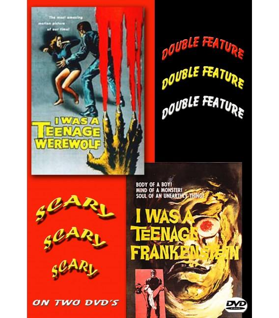 I Was A Teenage Frankenstein & I Was A Teenage Werewolf on a 2 DVD set