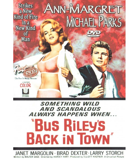 Bus Riley's Back In Town DVD starring Ann-Margret and Michael Parks