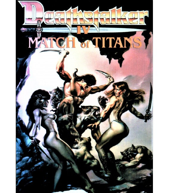 Deathstalker 4 Match of Titans on DVD
